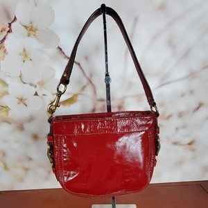 Coach  red patent